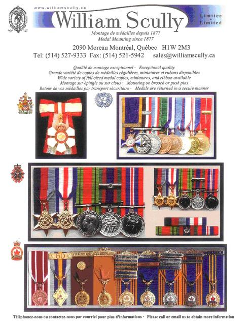 Canadian Medal Mounting Services