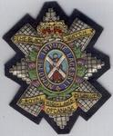 Black Watch of Canada Badge