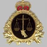 Canadian JAG Cap Badge