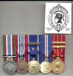 Full-Size Medal Set of Five