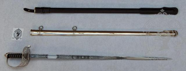Rifle and Light Infantry Officer's Sword II