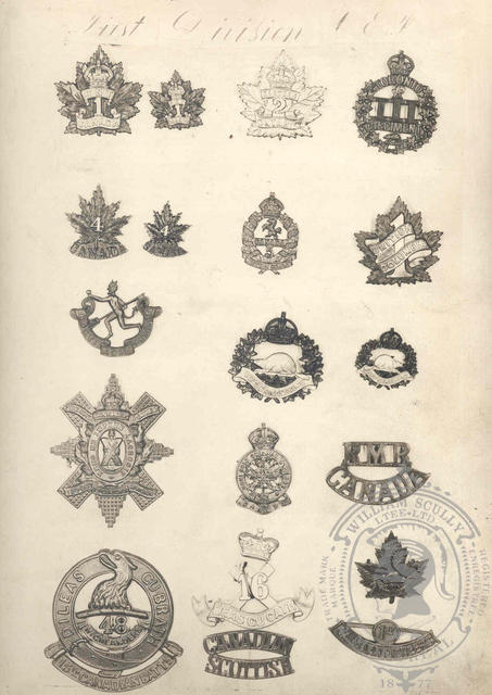 Canadian Expeditionary Force Badges 1