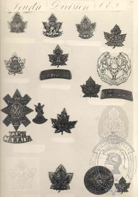 Canadian Expeditionary Force Badges 4