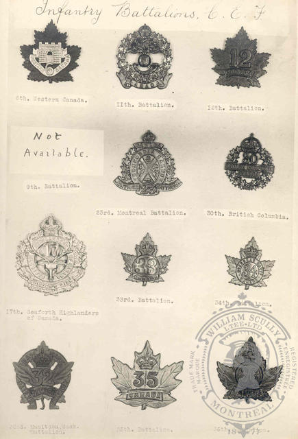 Canadian Expeditionary Force Badges 5