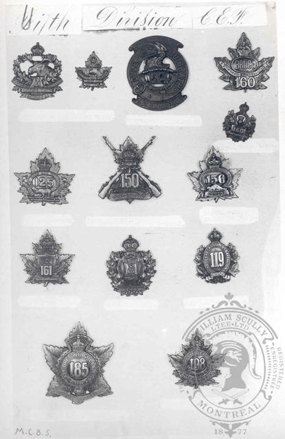 Canadian Expeditionary Force Badges 6