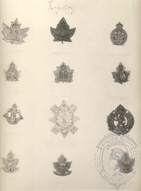 Canadian Expeditionary Force Badges 8