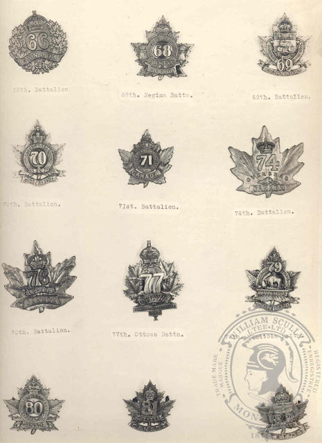 Canadian Expeditionary Force Badges 10