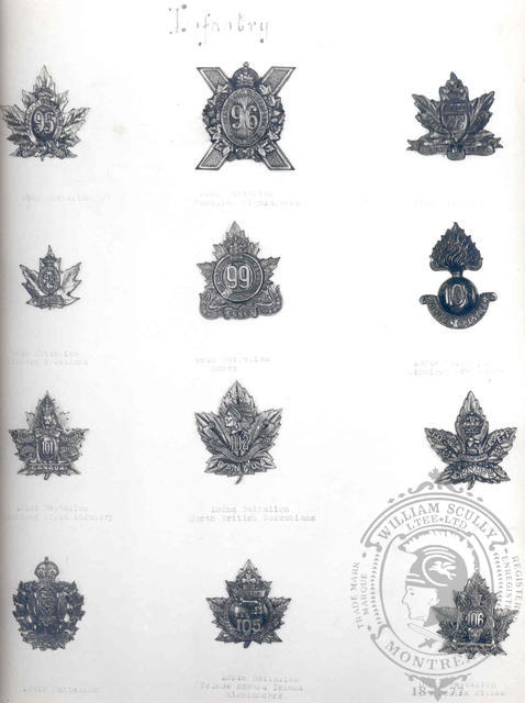 Canadian Expeditionary Force Badges 14