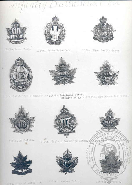 Canadian Expeditionary Force Badges 15