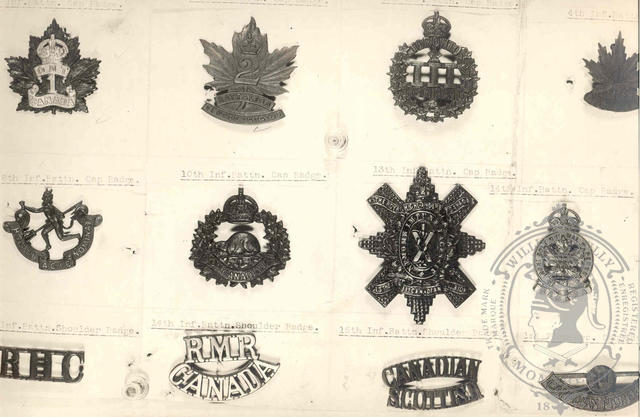 Canadian Expeditionary Force Badges 35