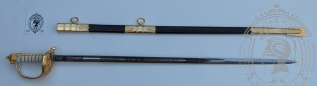 Royal Canadian Naval Officer's Sword