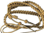 Gold Aiguillette (Synthetic Metallic & Real Gold)