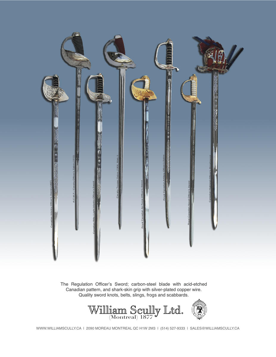 Canadian Military Officers' Swords Brochure