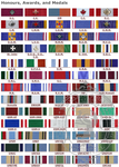 Regulation Medal Ribbons (by meter)