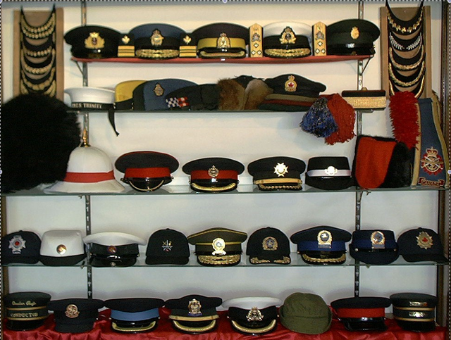 Military, Law Enforcement, Fire Department Headdress