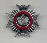 CAFC Fire Fighter Cap Badge