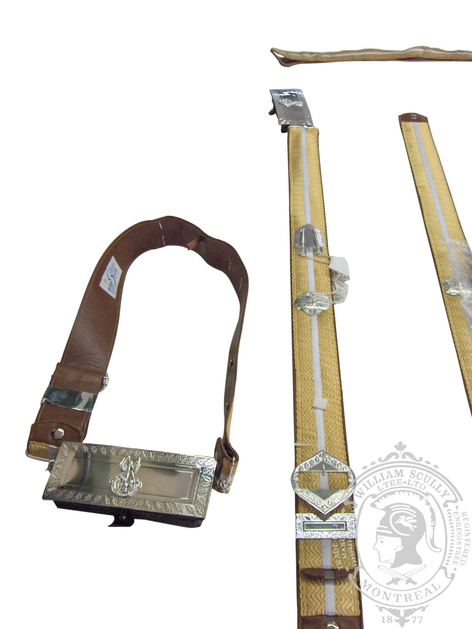 Custom Cross Belts