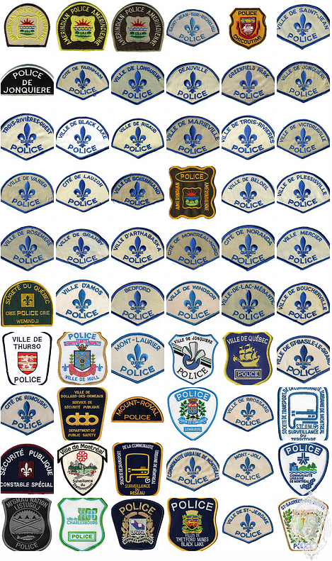 Quebec Patches