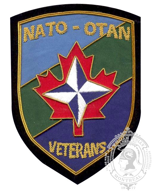 NATO Veterans Association Embroidered Blazer Badge