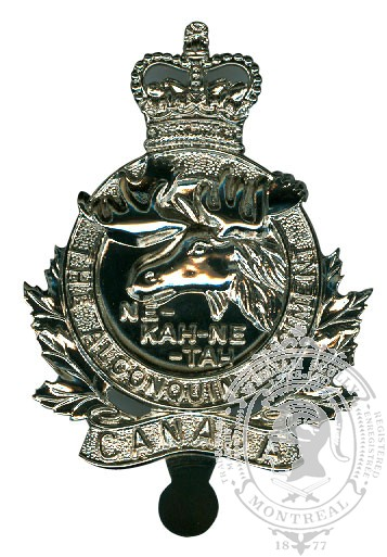 The Algonquin Regiment Cap Badge