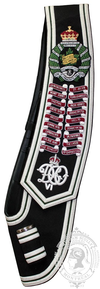 British Columbia Regiment Baldric