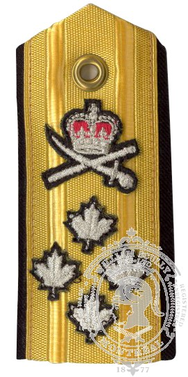 Canadian Admiral Shoulder Board