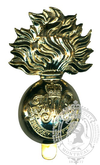 Fusiliers Mont Royal Cap Badge