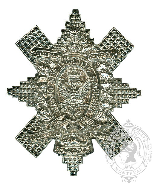 Lanark and Renfrew Scottish Cap Badge