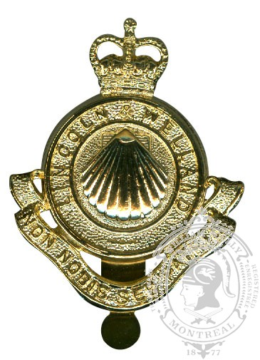 The Lincoln and Welland Regiment Cap Badge