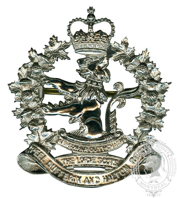 The Lorne Scots Cap Badge