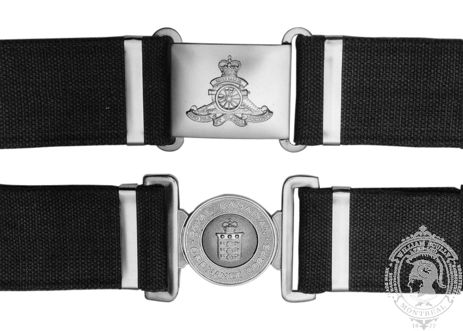 Ceremonial Dress Buckles, Keepers, and 2.25 Webbing