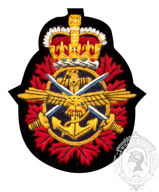 Canadian Forces Embroidered Blazer Crest