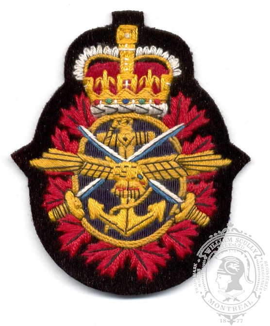 Canadian Forces Embroidered Badge