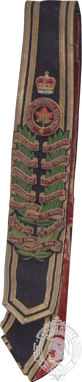 Woven Trumpet Banner