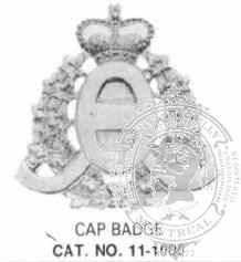 11-1000 Cap Badge Blank