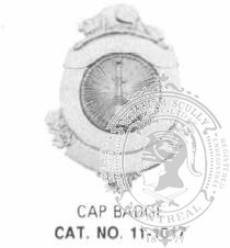11-1017 Fire Department Cap Badge