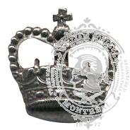 Tin 6-1010B Rank Crown w/ eyelets (pair)