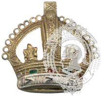 Tudor 6-1041 Rank Crown w/ metal tabs (pair)