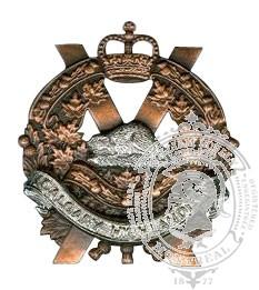 The Calgary Highlanders Cap Badge