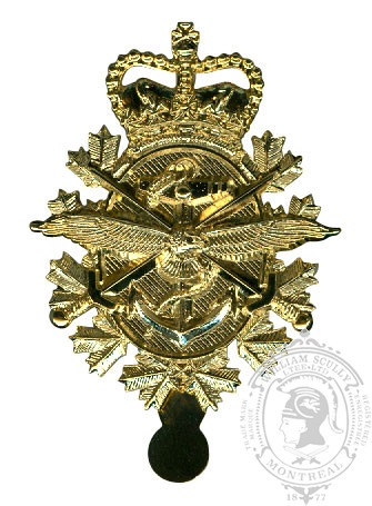 CF Three Forces Cap Badge