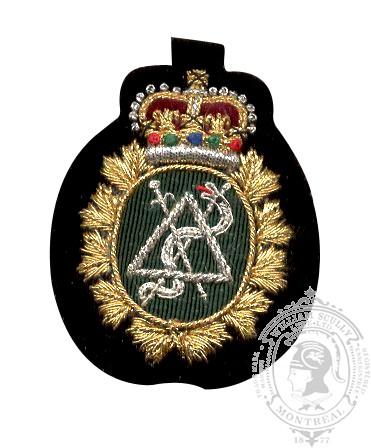 Dental Embroidered Beret Badge