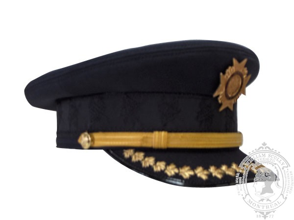 2-1001 Deputy Fire Chief CAFC Uniform Cap