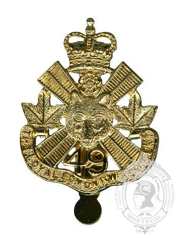 The Loyal Edmonton Regiment Cap Badge