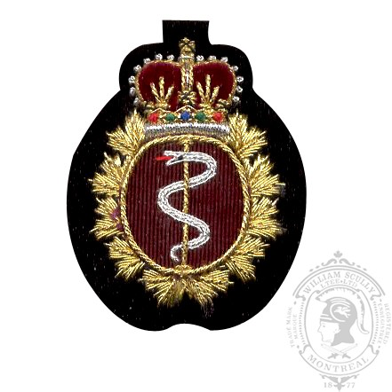 Medical Embroidered Badge