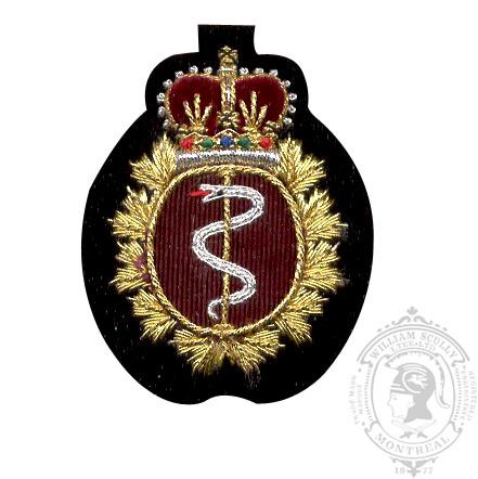 Medical Embroidered Beret Badge