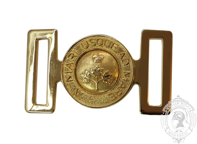 CANADIAN ARMY INTERLOCKING BUCKLE