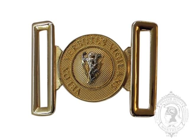 COMMUNICATIONS AND ELECTRONICS BRANCH INTERLOCKING BUCKLE