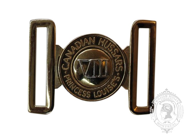 8TH CANADIAN HUSSARS (PRINCESS LOUISE'S) INTERLOCKING BUCKLE