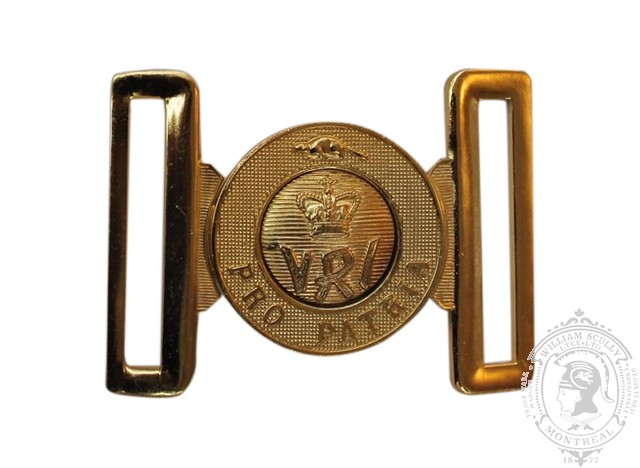 THE ROYAL CANADIAN REGIMENT INTERLOCKING BUCKLE