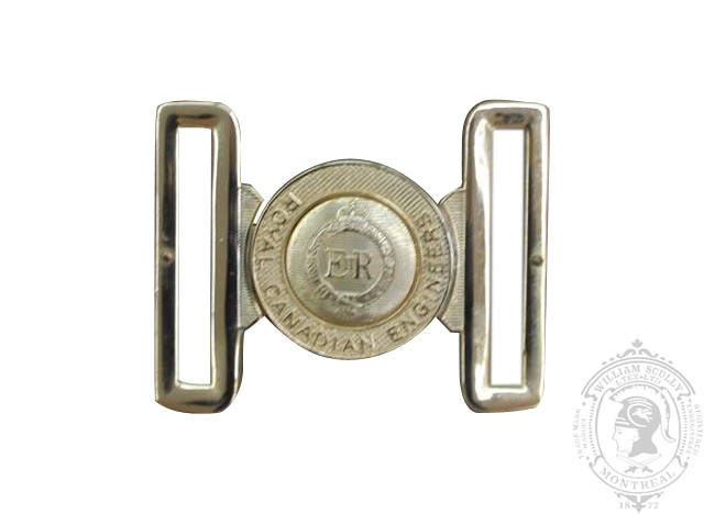 THE ROYAL CANADIAN ENGINEERS INTERLOCKING BUCKLE
